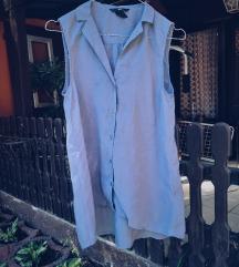 H&M - Siva prozirna bluza / boja lavande 💕