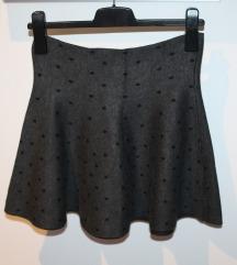 C&A suknja na točkice