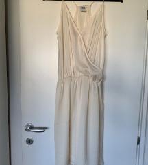 Bež ljetna haljina