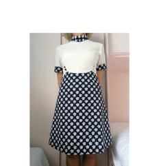 Retro vintage haljina poslovna business casual