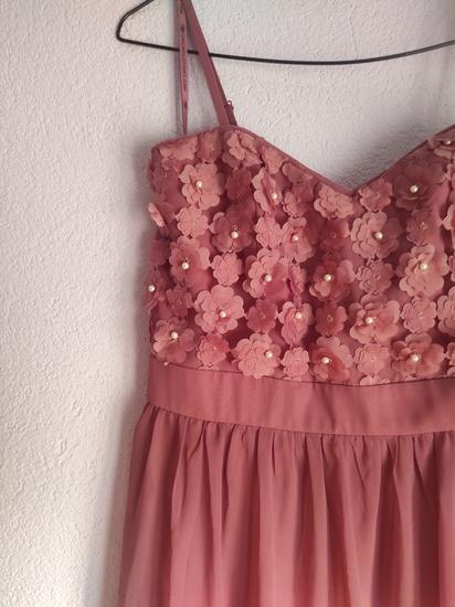 Roza haljina nova