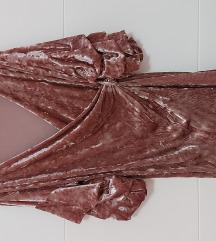 Prljavo roza tunika
