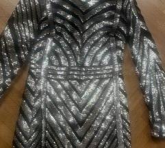 svjetlucava sequin bodycon haljina