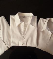 Lot bijelih poslovnih košulja 40