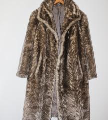 Zimski kaput/bunda, umjetno krzno