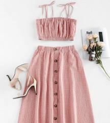 Dvodijelna haljina Zaful