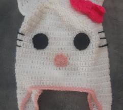 Kapa za djevojčice 5-6 godina Hello Kitty