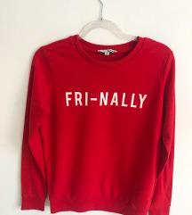 Crveni pulover majica