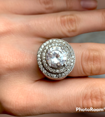 Srebrni prsten ZAKS/ARGENTUM