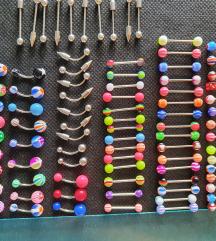 Razni piercing od čelika