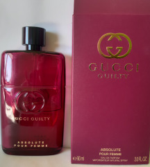 Gucci guilty absolute edp 40/90 ml
