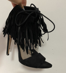 Cipele na pete s resicama