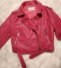 Kratka kožna jakna Bershka
