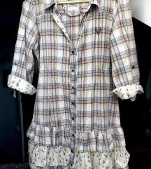 BWNY 🏇🏻jeans cowboy haljina s volanima