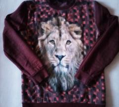 Topla bordo majica vel.152