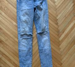H&M uske hlace skinny regular waist