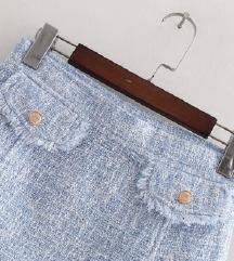 ZARA mini suknja od tvida