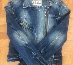 Rich & Royal kratka traper jakna