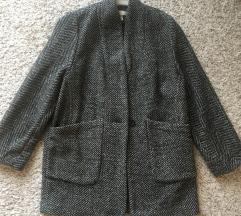 H&m sivi kaput vel 36