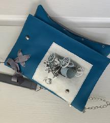 Unikatna handmade torbica