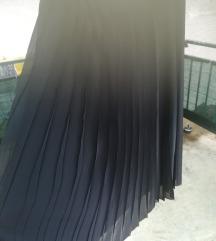 Plisirana suknja maxi xxxl