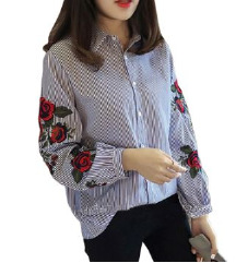 Košulja s cvjetnim uzorcima s pt.