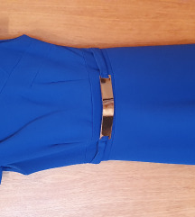 Kraljevsko plava haljina