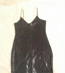 h&m efektna haljina mini*novo*