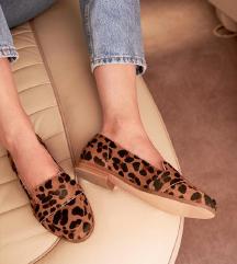 Sezane Michel loafers leopard