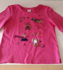 C&a pink majica vel.134