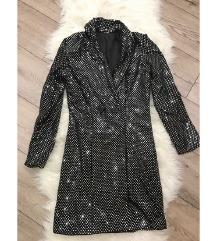 Šljokasta blazer/sako haljina