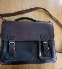 Kožna moderna torba, veća