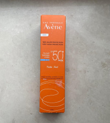 novo AVENE spf 50 fluid za lice