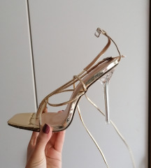 Like Ego shoes lace up heels