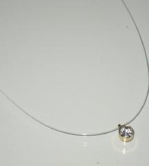 Diskretna ogrlica na sajli - NOVO