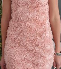 Predivna haljina sa 3D ružama!!