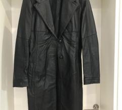Kožna jakna duži model