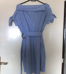 Plava ljetna haljina