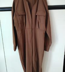 ZARA smeđa haljina ➡️ SLIKE MODELA