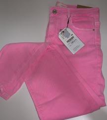Neon roze traperice