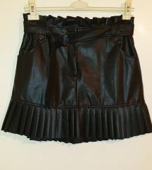 Zara kozna suknja
