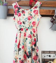 Cvjetna lepršava haljinica