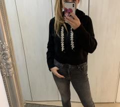 Zara knit biseri sweater majica