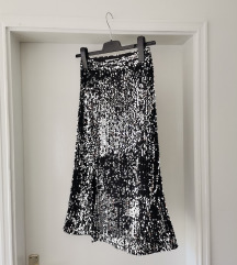 Šljokice- suknja