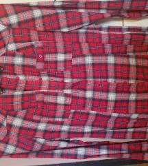 Crveno karirana košulja