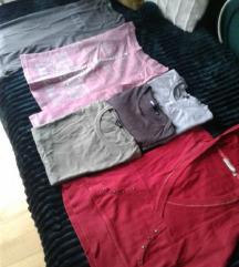 Lot majica za djevojčice 50kn