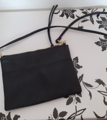 H&M crna torbica