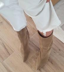 Zara nude cizme