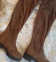 Predivne BERSHKA kožne čizme!