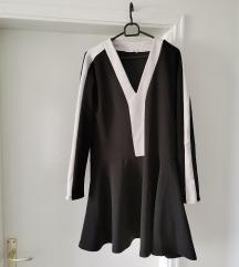 Zara crno bijela tunika